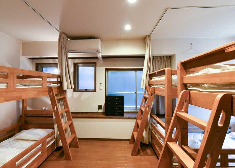 201:女性專用宿舍房間/6人房
