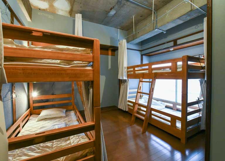 301:男女混合宿舍房間/4人房